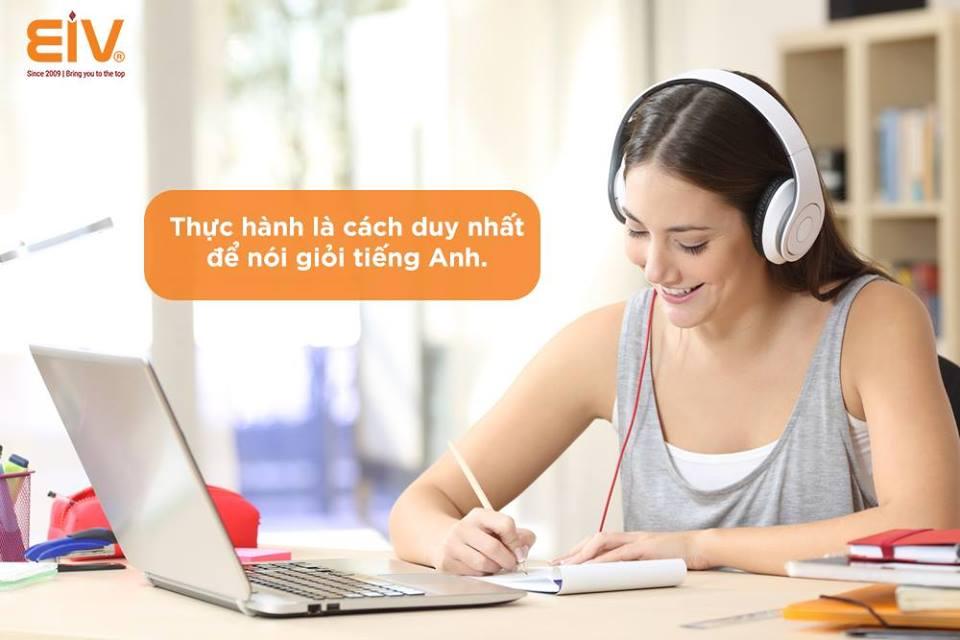 Phương pháp học Tiếng Anh online hiệu quả tại EIV