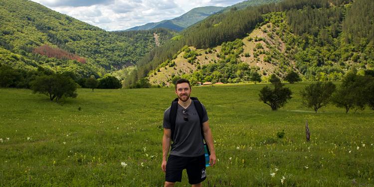 Nomadic lifestyle Justin Poore